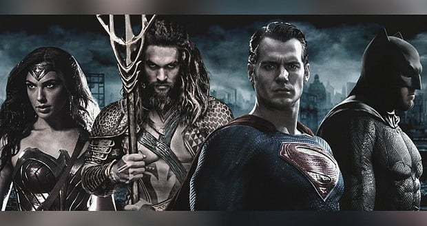 The beginning of the Justice League