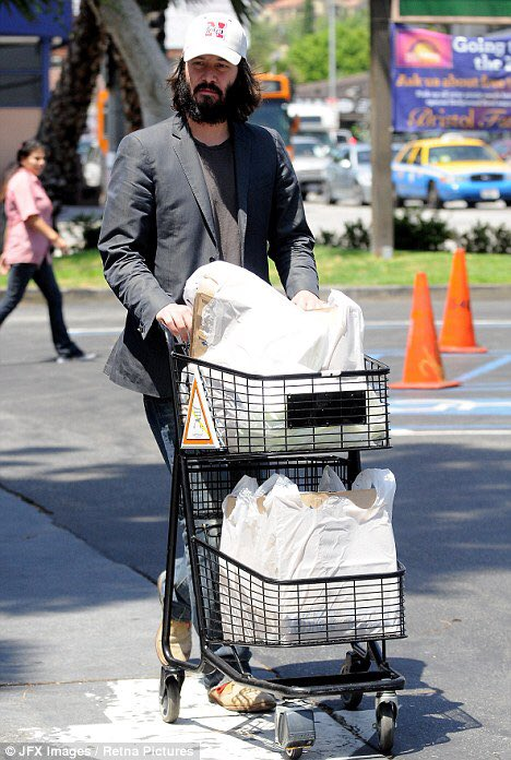 """keanu doing things on Twitter: """"keanu reeves grocery shopping… """""""