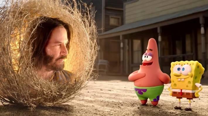 Netflix's SpongeBob Movie: Sponge on the Run: Keanu Reeves' Sage steals the  show   Stuff.co.nz