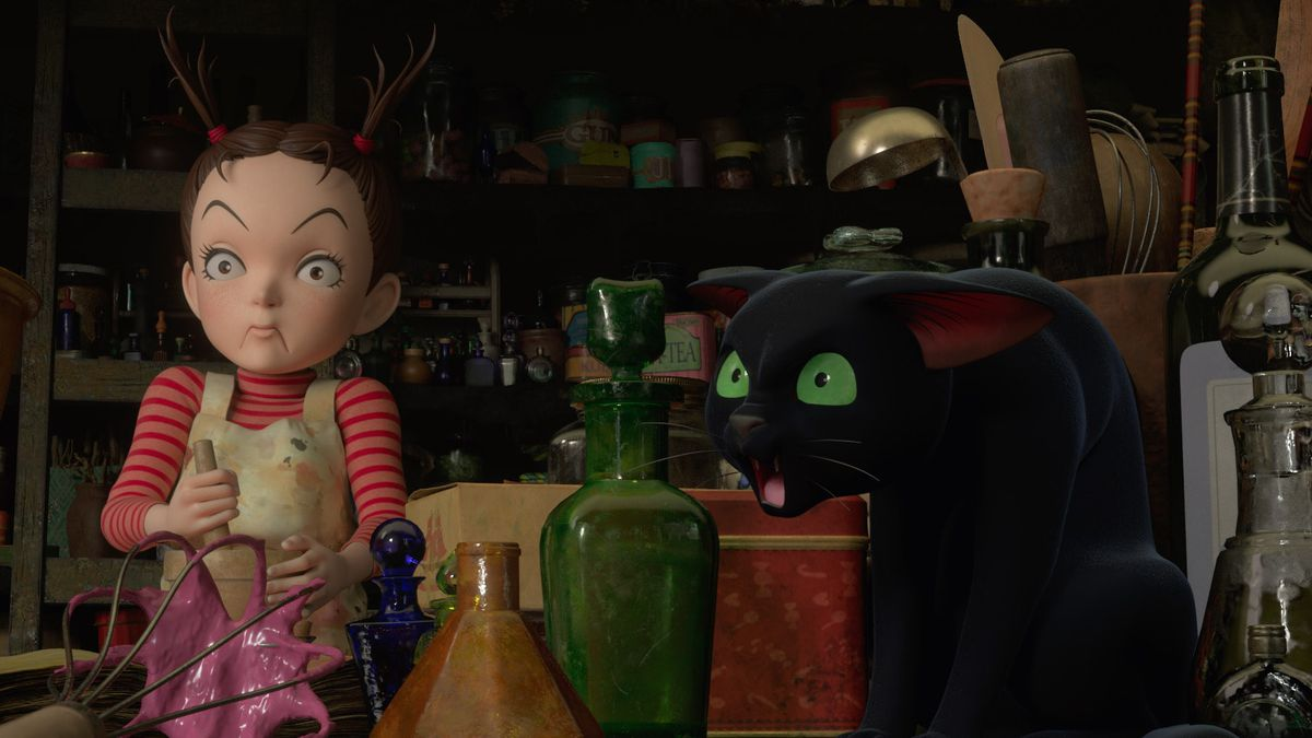 Earwig and the Witch review: Ghibli's first 3D movie is better than it  looks - Polygon