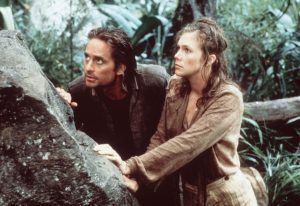 A still from the film Romancing the Stone.
