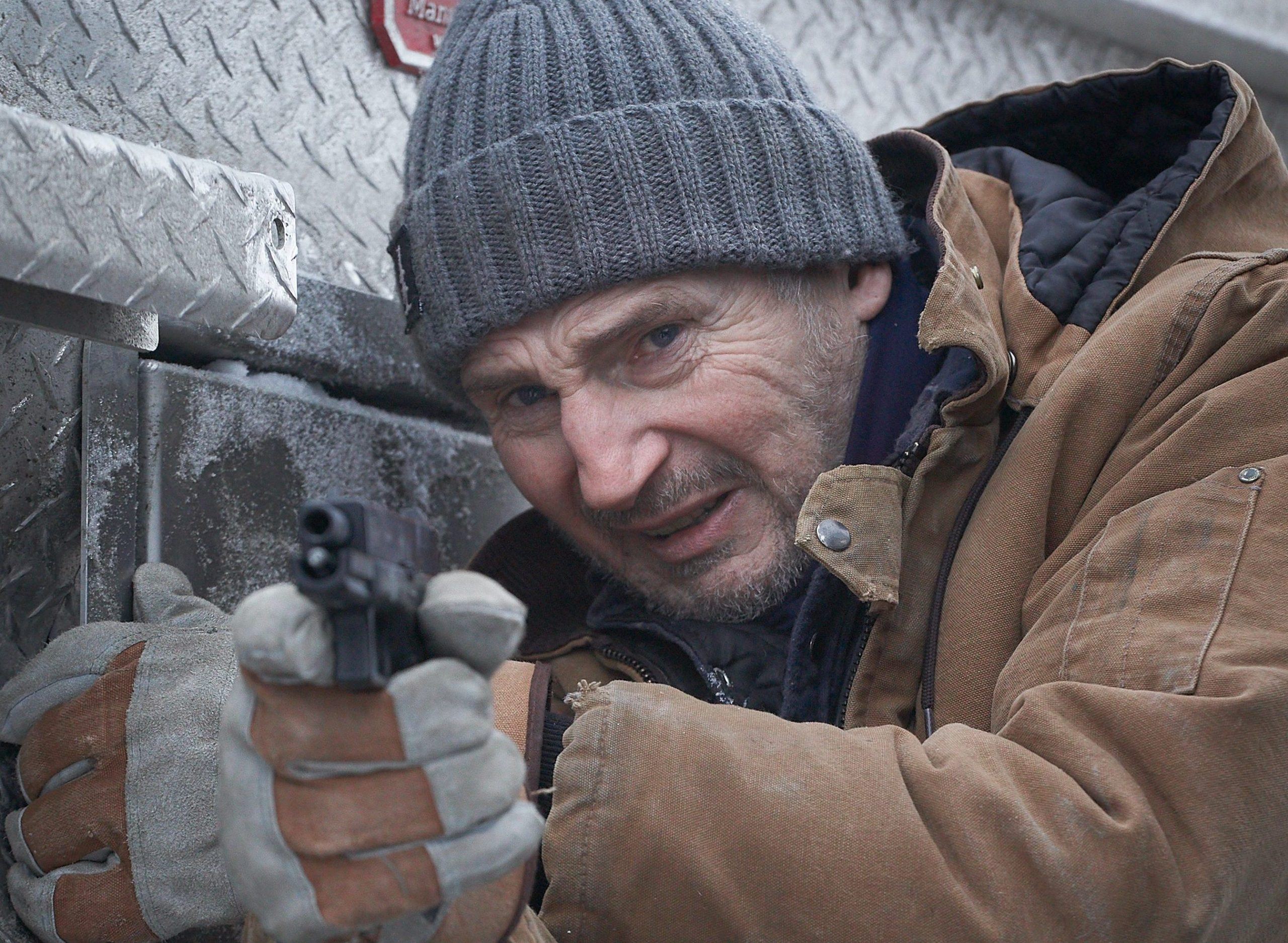The Ice Road': First Look At Liam Neeson In Action Rescue Movie – Deadline